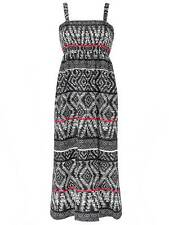 LabelBe for SimplyBe plus size 18 tribal black pattern long maxi dress
