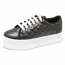 6654H sneakers zeppe donna JEFFREY CAMPBELL zomg quilted lea scarpe shoes women