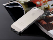 0.3mm Ultra Thin Slim Matte Hard Back Case Cover Skin For Apple iPhone SE 6S 5C