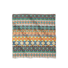 Hipster Aztec Tribal Geometric Satin Style Scarf - Bandana in 3 sizes