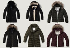 All New 2016 NWT Abercrombie & Fitch Women's Winter Parka Jacket Coat Lot