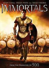 Immortals (DVD, 2012) Brand New