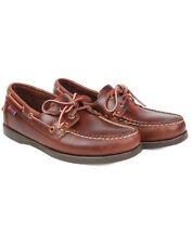 Sebago Men's Dockside Boat Shoes - Brown Oiled