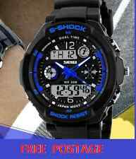 Men's Digital S Shock Sports Dual Time Shock Watch g sport style, Diff Colours
