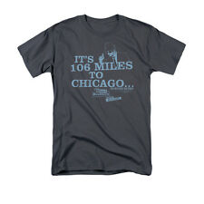 BLUES BROTHERS CHICAGO Officially Licensed Men's Graphic Tee Shirt SM-5XL