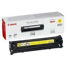 GENUINE CANON 716Y (1977B002AA) YELLOW LASER PRINTER TONER CARTRIDGE
