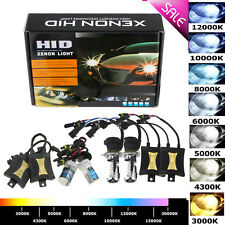 55W HID Xenon Headlights Conversion KIT H1 H3 H4 H7 9005/6 9004/7 Bi-Xenon Hi/Lo