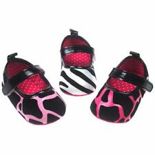 Baby Girls PU Suede Animal Print Shoe