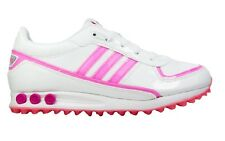 ADIDAS LA TRAINER J GIRLS SIZE 5.5 WHITE PINK TRAINER SHOE RRP £50/-