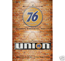 UNION 76 Petrolum Embossed Metal Sign Wall Deco Garage Gas & Oil Station Display