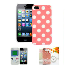 Game Boy Style Silicone Soft Case Cover Skin For iPhone 5 5G TS