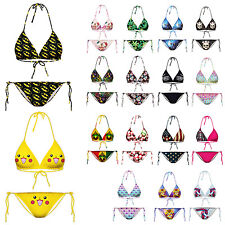 Batman Hempleaf  Swimsuit Bathing Suit  Women Beachwear Bra  Bikini Set Swimwear