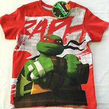 NEW - Boys Teenage Mutant NINJA Turtles - T-Shirt - Size 4