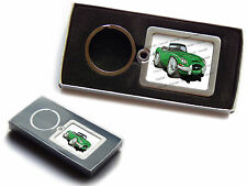 JAGUAR E TYPE Official Koolart Premium Metal Keyring With Gift Box Any Colour!