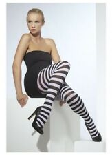 Tights Wide Striped Colored Stockings Fancy Dress Costume Accessory