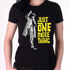 Just One More Thing - Women's T-Shirt - Inspired by Columbo / Peter Falk