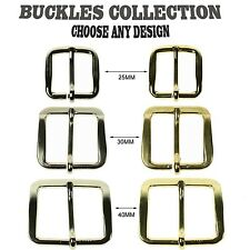 """Silver Gold Plated Best High Quality Metal Belt Buckles In 1"""",1.25"""" & 1.5"""" Inch"""