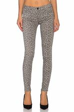Black Orchid JUDE MID RISE SKINNY GREY LEOPARD Jeans Pants Sz 25 26 27 $154 NWT