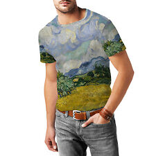 Vincent Van Gogh Fine Art Painting Mens Sport Mesh T-Shirt XS-3XL All-Over-Print