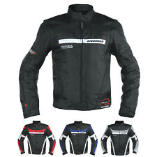 Mens Waterproof Textile Winter Motorcycle Motorbike Nylon Fabric Jacket CE
