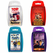 Disney High School Musical Top Gear Dr Who Official Gift Card Game Top Trumps