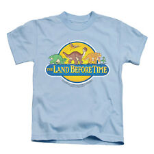 Land Before Time Boys' Dino Breakout Childrens T-shirt Blue Rockabilia