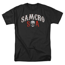 Sons Of Anarchy Men's  Samcro Forever T-shirt Black Rockabilia