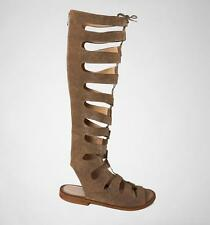 tReds Lava-1 Taupe Knee High Gladiator Strappy Sandals WAS 39.99 NOW 13.49