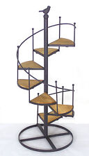 Stair Pot Plant Stand Iron French Provincial Home & Garden Décor BIG *59 cm*