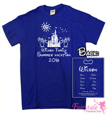 20 Personalized Disney Summer Family Vacation T-Shirts