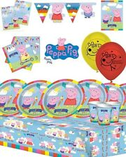 PEPPA PIG BIRTHDAY PARTY SUPPLIES DECORATIONS COMPLETE KITS FOR 8 16 24 32 GUEST