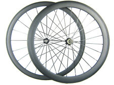 carbon bike front 38mm rear 50mm clincher tubular wheels 700C bicycle racing