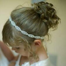Fashion Baby Princess Flower Girls Kids Hair Band Children Rhinestone Headbands