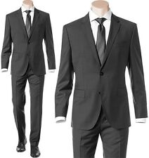 NWT Hugo Boss Black Label Super 100 Italian Virgin Wool Luxurious Business Suit