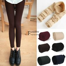 ter Warm Comfortable Women Cotton Skinny Thick Leggings Stirrup 3 Color B24 FNHB