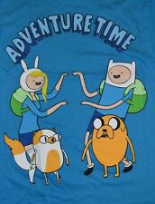 Adventure Time with Finn & Jake Cake the Cat & Fionna Adult T-Shirt Licensed