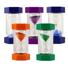 Sand Timer Hourglass Sandglass Egg Timers 10/15/20/30/60 Minutes Cooking KG