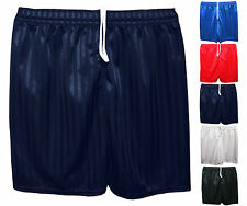 Kids Children Boys Girls Shadow Stripe Shorts Sports & School PE Football Shorts