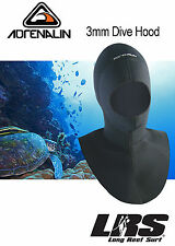 NEW Adrenalin 3mm Neoprene Surf and Dive Hood