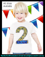 Minion Despicable Me Inspired Birthday Party Boy Personalized Custom T Shirt