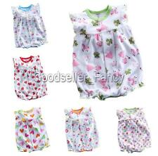 New Baby Girls Infant Floral Romper Top Shirt Jumpsuit Summer Outfits Clothes