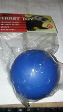 SPOT PET FERRET HOCKEY BALL TOY 1 PACK SMALL ANIMAL UPICK COLOR. FREE SHIP USA