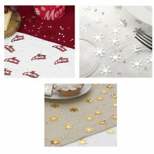 Christmas TABLE CONFETTI / sprinkles scatter with diamonds