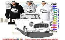 56-58 FE HOLDEN UTE HOODIE ILLUSTRATED CLASSIC RETRO MUSCLE SPORTS CAR