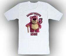 Personalized Custom Toy Story Lots O Hugging Bear Birthday Shirt