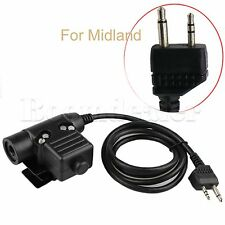U94 PTT Cable Plug Z-Tactical Headsets For Smartphone Motorola Talkabout Kenwood