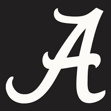Alabama Crimson Tide Vinyl Logo Car Decal, sticker, window cling, corn hole