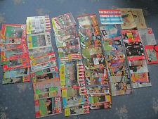 Collection Joblot of 100 Sheffield United Football Programmes 1984-1992