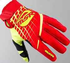 YOUTH MSR Racing Axxis RED Yellow M16 Gloves motocross atv off road Honda Suzuki