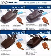 Promotion Natural leather Key Case Holder Cover For HYUNDAI 13 - 16 Elantra GT
